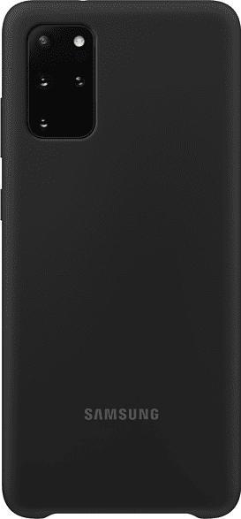 Silicone Cover für Galaxy S20+, Schwarz