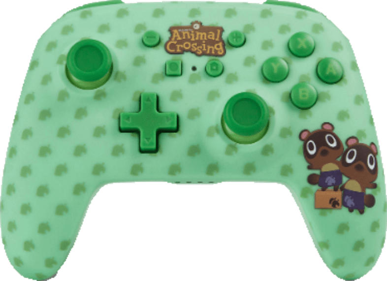 POWER A Wireless Controller a Crossing Timmy Tommy Controller, Grün
