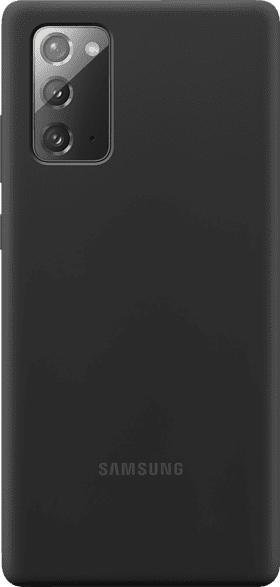 SAMSUNG EF-PN980 , Backcover, Samsung, Galaxy Note20, Silicon, Schwarz