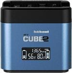 MediaMarkt PROCUBE2 Doppelladegerät für Panasonic DMW-BLC12 | BLF19 | BLJ31 | BLG10