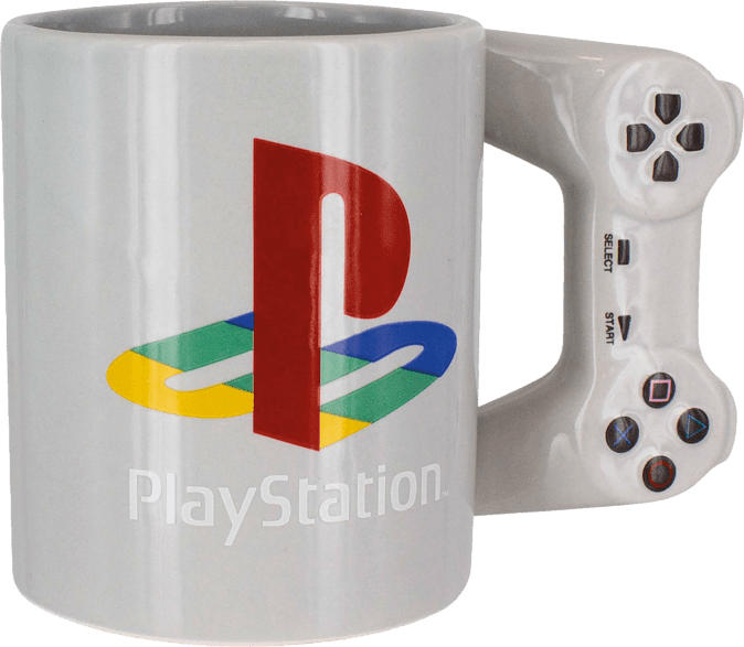 PALADONE PRODUCTS Playstation Controller Becher ca. 300ml Tasse, Mehrfarbig