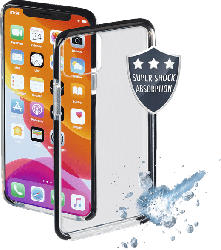 HAMA Protector , Backcover, Apple, iPhone 11 Pro Max, Thermoplastisches Polyurethan, Schwarz