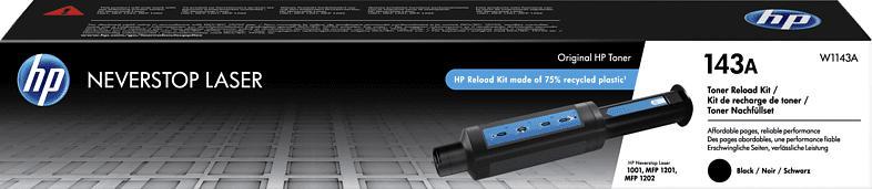 HP 143A Toner Schwarz