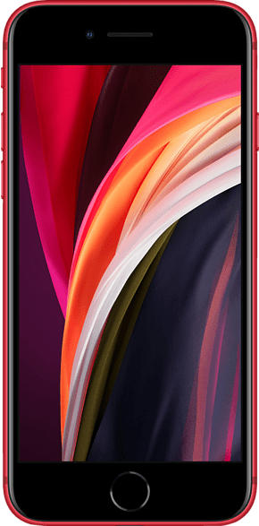 APPLE iPhone SE 256 GB Rot Dual SIM