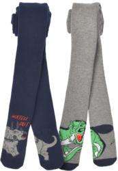 2 Jungen Strumpfhosen mit Dino-Motiven (Nur online)