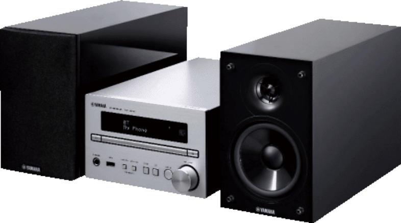YAMAHA MCR-B 370 D Kompaktanlange (Schwarz/Silber)