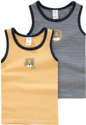 2 Baby Unterhemden mit Löwen-Motiv (Nur online)