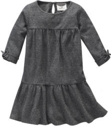 Mädchen Kleid mit dezentem Allover-Muster (Nur online)