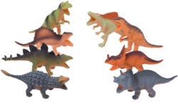 8 Dinosaurier-Spielfiguren im Set