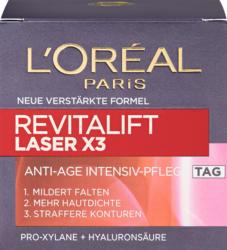 Soin du visage crème de jour anti-âge Revitalift Laser X3 L'Oréal, 50 ml
