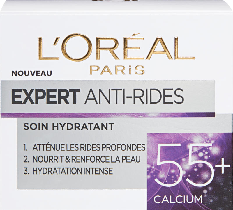 L'Oréal Anti-Falten Experte, Calcium, 55+, 50 ml