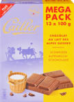 Denner Tavoletta di cioccolata Cailler, Latte alpino, 13 x 100 g - al 18.10.2021