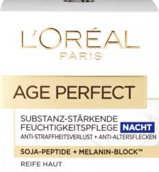 Cura del viso L'Oréal, Age Perfect Notte, trattamento intensivo per pelli mature, 50 ml
