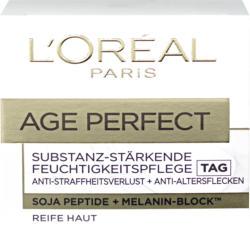 Soin du visage L'Oréal, Age Perfect Jour, nutrition intense pour peau mature, 50 ml
