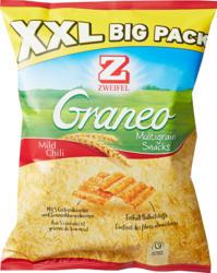 Zweifel Graneo Multigrain Snacks, Mild Chili, XXL Big Pack, 225 g