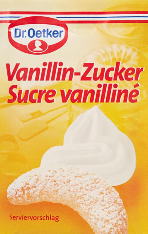 Sucre vanilliné Dr. Oetker, 5 x 13 g