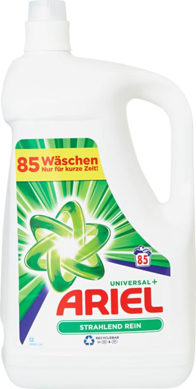Lessive liquide Universal Ariel , 85 lessives, 4,675 litres