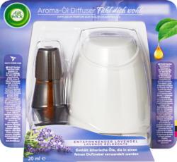 Air Wick Aroma-Öl Diffuser Starterkit, entspannender Lavendel, 1 Stück
