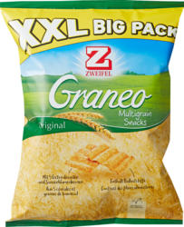 Zweifel Graneo Multigrain Snacks, Original, XXL Big Pack, 225 g