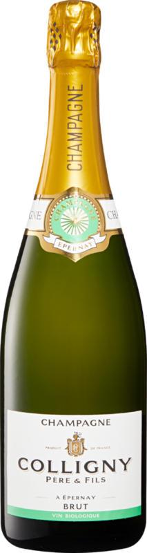 Colligny brut bio Champagne AOC, Champagne, France, 75 cl