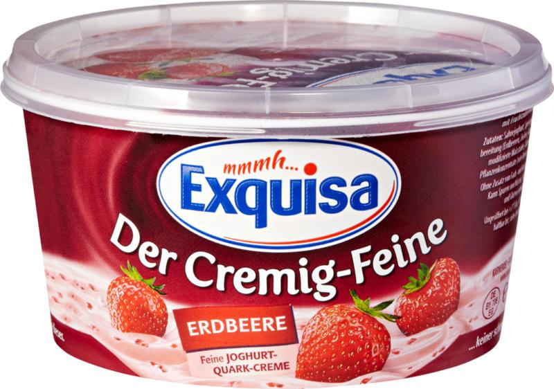Séré aux fruits Exquisa, Fraise, 470 g