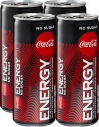Coca-Cola Energy Zero, 4 x 25 cl