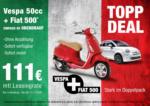 Autohaus Gotthard König Topp Deal: Vespa + Fiat 500 - bis 11.11.2020