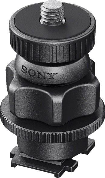 SONY VCT-CSM1 Kamera Schuh Adapter, Aufsteckaufsatz, Schwarz, passend für Mi Shoe
