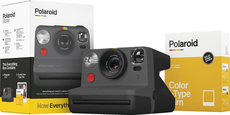 POLAROID Now Kamera Everything Box Sofortbildkamera, Schwarz