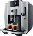 MediaMarkt JURA E8 (EB) Kaffeevollautomat Moonlight Silver