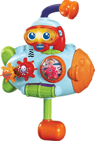 VTECH Badespaß U-Boot Badespielzeug, Mehrfarbig