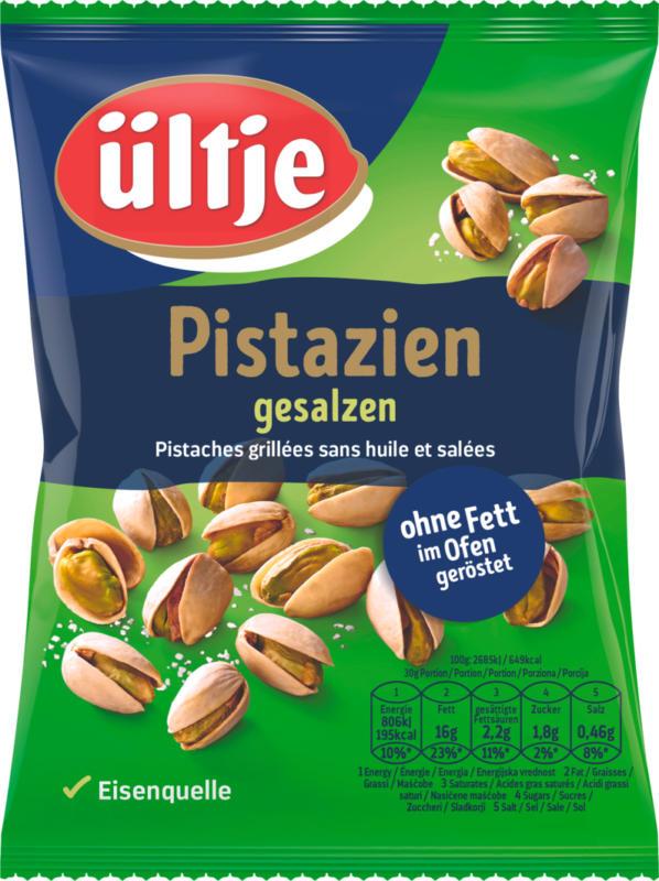 Ültje Pistazien, ohne Fett im Ofen geröstet und gesalzen, 150 g