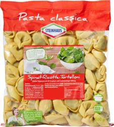 Steinhaus Tortelloni Pasta Classica, Spinat und Ricotta, 1000 g