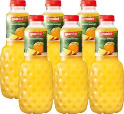 Granini Nektar Orange-Mango, 6 x 1 Liter