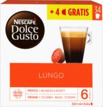 Nescafé Dolce Gusto Kaffeekapseln, Lungo, 30 + 4 Kapseln