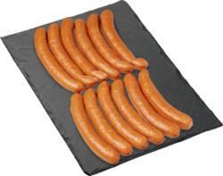 Salsiccetta di maiale Denner, 3 confezioni da 4 salsiccette, 600 g