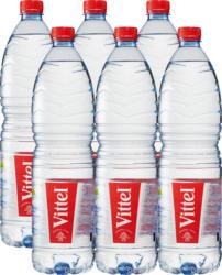 Vittel Mineralwasser, ohne Kohlensäure, 6 x 1,5 Liter