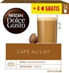 Denner Satellit Nescafé Dolce Gusto Kaffeekapseln, Café au Lait, 30 + 4 Kapseln - bis 30.11.2020