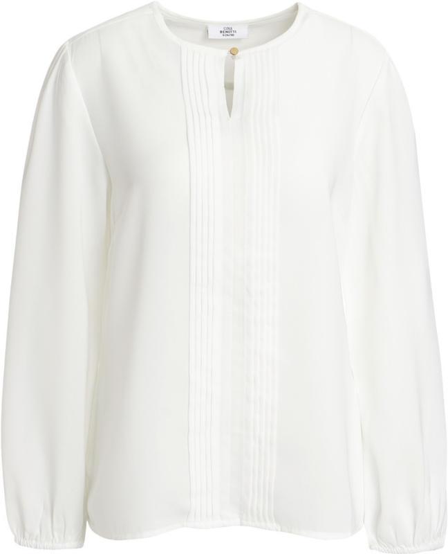 Damen Bluse mit Biesenfalten (Nur online)