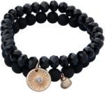 Ernsting's family 2 Damen Armbänder mit verschiedenen Perlen