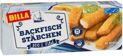 BILLA Backfischstäbchen