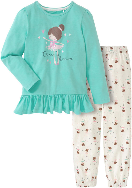 Mädchen Schlafanzug mit Ballerina-Print (Nur online)