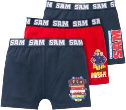 3 Feuerwehrmann Sam Retroboxer im Set