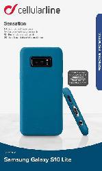 Backcover Sensation für Samsung Galaxy S10e, blau