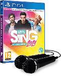 MediaMarkt Let's Sing 2021 mit deutschen Hits + 2 Mics - [PlayStation 4]