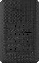 VERBATIM 53403 Secure Portable, 2 TB HDD, 2.5 Zoll, extern