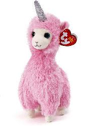 TY Lana Lama mit Horn 15cm Plüschfigur, Mehrfarbig