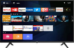 COOCAA 65S3N-E LED TV (Flat, 65 Zoll/165 cm, UHD 4K, SMART TV, Linux)
