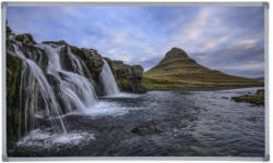 Infrarot Heizung 600 W Waterfall 100x60 cm