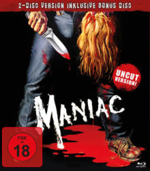 Maniac - 2 Disc Bluray